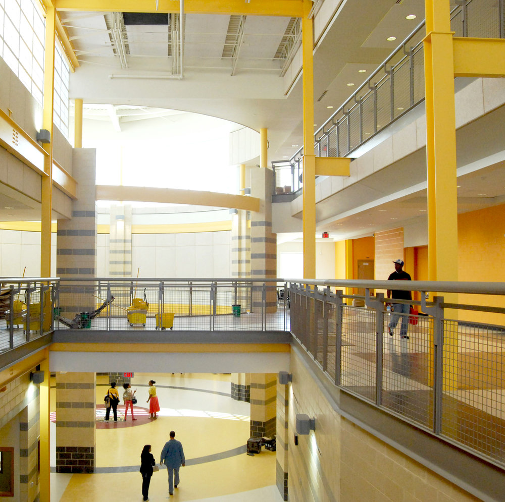 OXON HILL HIGH SCHOOL  Oxon Hill, MD     Prince George's County Public Schools selected WMCRP, Inc. to design a replacement high school for the students currently served by the existing Oxon Hill High School in Oxon Hill, Maryland.