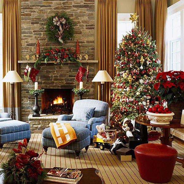 Christmas Living Room 10