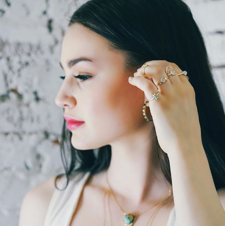 Photo: Camille Carnevale  Model: Katie Machia  Camille Carnelvale Jewlery