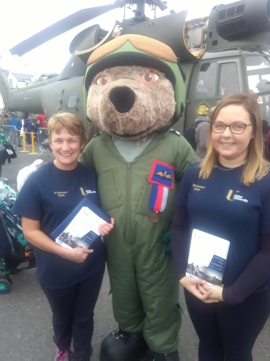 Margaret and Maria promoting our study at Air Waves Portrush (September 2018).