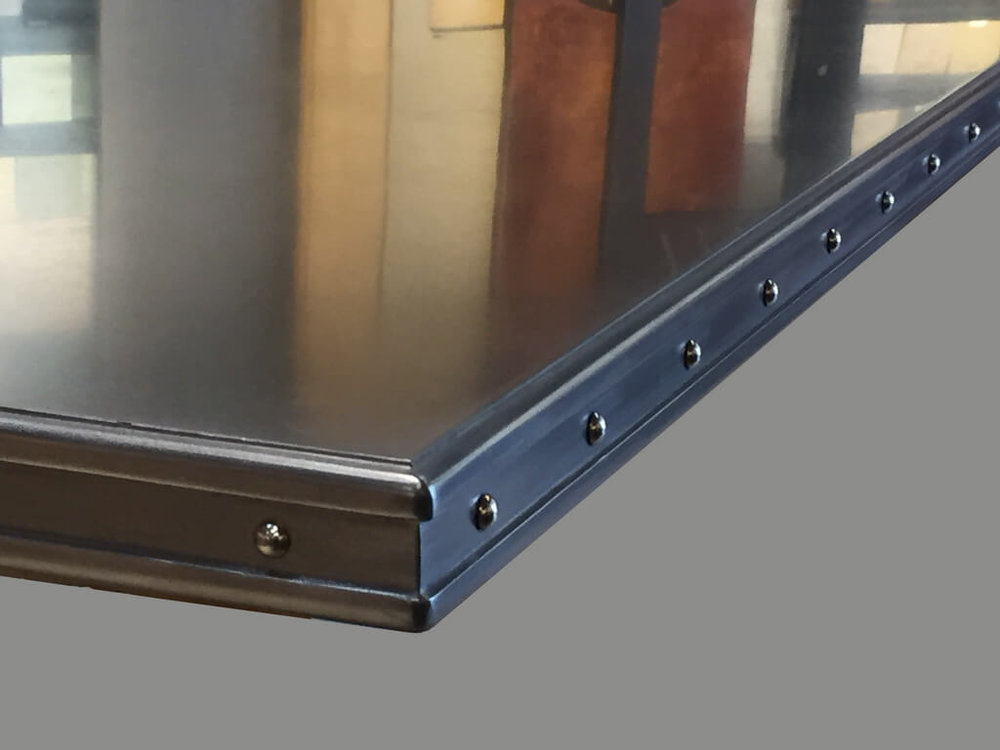 Superieur Commercial Grade Stainless Steel Bar Top