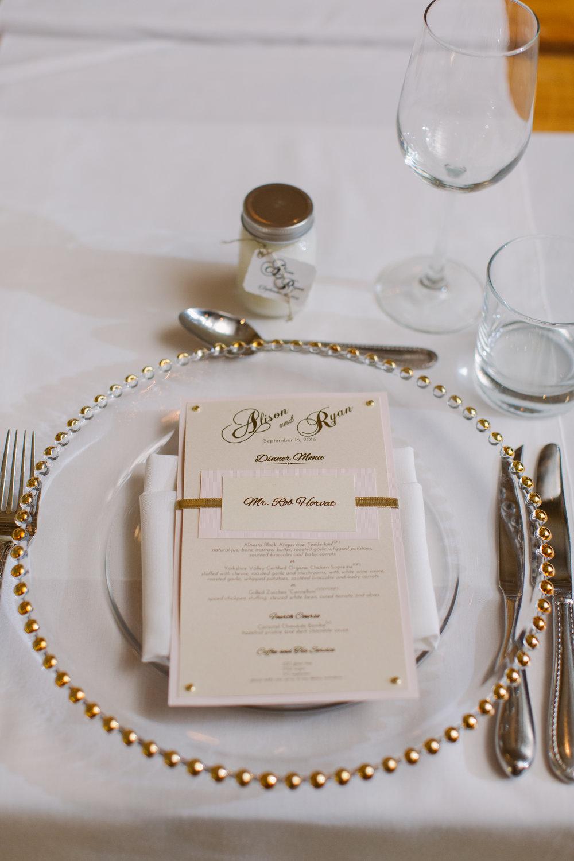 Blush Gold Wedding by Junebug Events