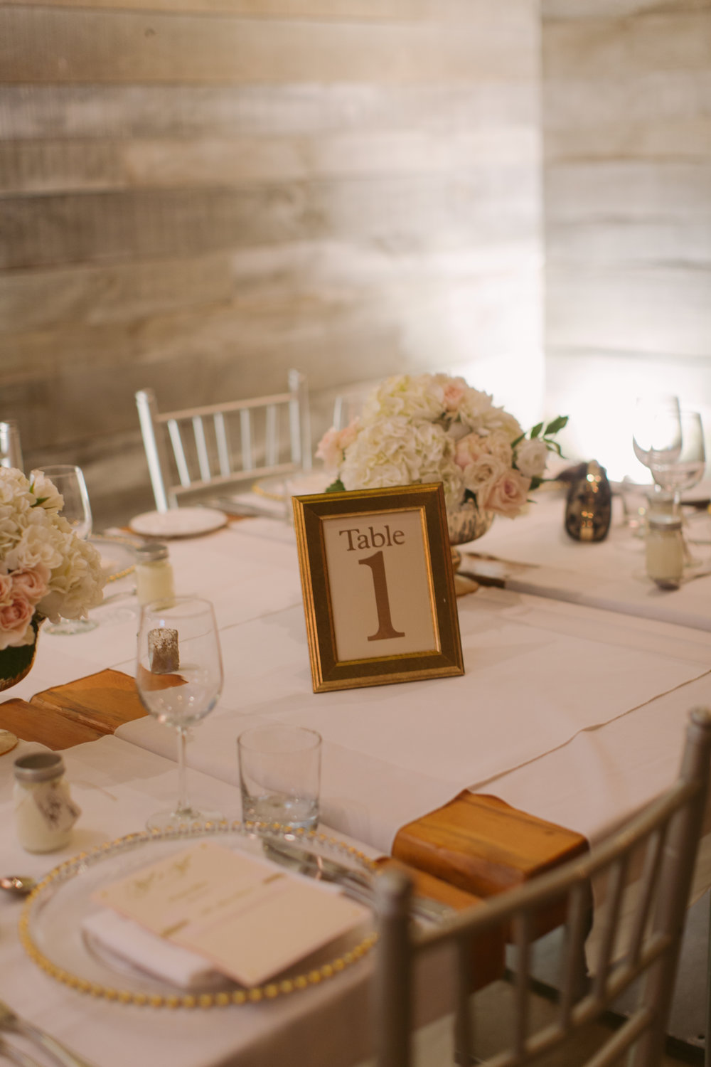 Table Numbers by Junebug Events