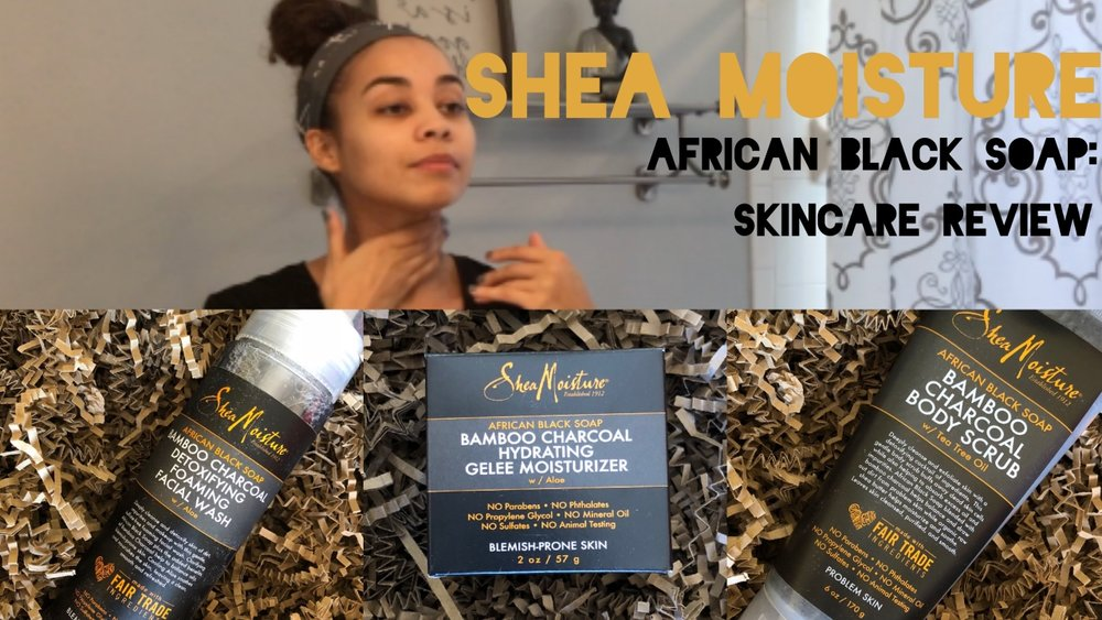 African Black Soap Facial Wash And Scrub by SheaMoisture #22