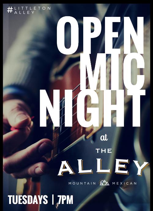 Littleton Alley Open Mic Night