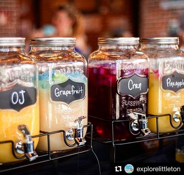 #Repost @explorelittleton  A little something to get you through the week: come see us this weekend & enjoy our bottomless build your own mimosa bar every Saturday & Sunday! • • • • #explorelittleton #littleton #littletoncolorado #colorado #downtownlittleton #historicdowntownlittleton #champagne #weekend #weekendvibes #sundayfunday