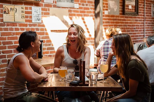 "Work #happyhour is more productive at The Alley... ""productive"" being subjective of course 😋  Make large group reservations with us easily by messaging us or giving us a call! #workfriends #drinks #funactivities #thealley #littleton"