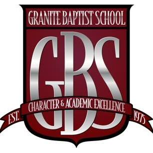 Granite Baptist School,  Glen Burnie, MD  Granite Baptist School was founded in 1975 as a ministry of Granite Baptist Church. Learning at GBS focuses on the acquisition of a worldview drawn from the truth of Scripture and applied to the spiritual, academic, social, and physical growth of its students.