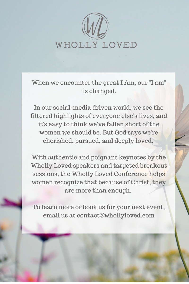 Join Us On The Wholly Loved Facebook Page And Share Your Thoughts,  Experiments, And Examples With Us