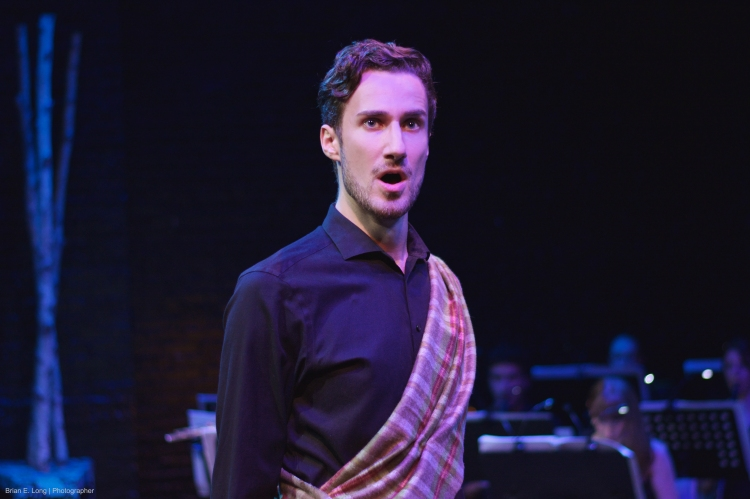 As Banquo in Macbeth, with dell'Arte Opera Ensemble