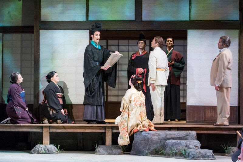 As the Imperial Commissioner in Madama Butterfly, at Sarasota Opera
