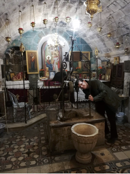 Picture: The well where Jesus met the Samarian Woman (John 4:1-42)