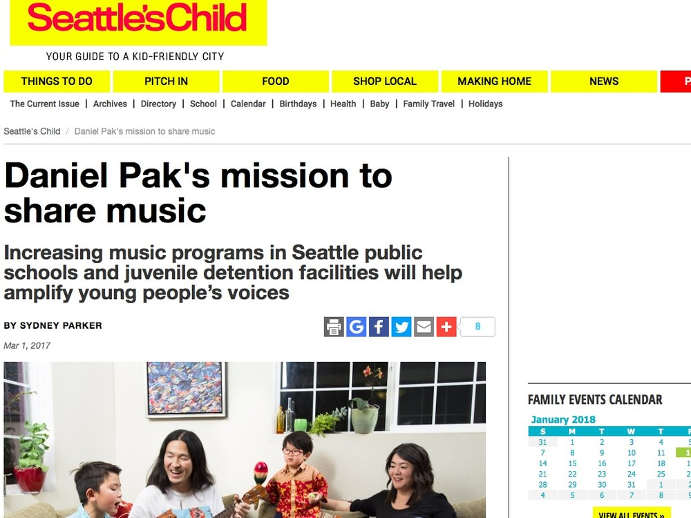 Daniel Pak's Mission to Share Music - By Sydney ParkerMarch 1, 2017