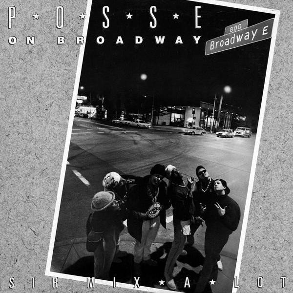 "Original Cover of ""Posse On Broadway"""