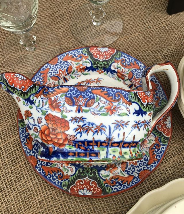 Gorgeous early Imari #softpaste #porcelain for sale at #Madoo