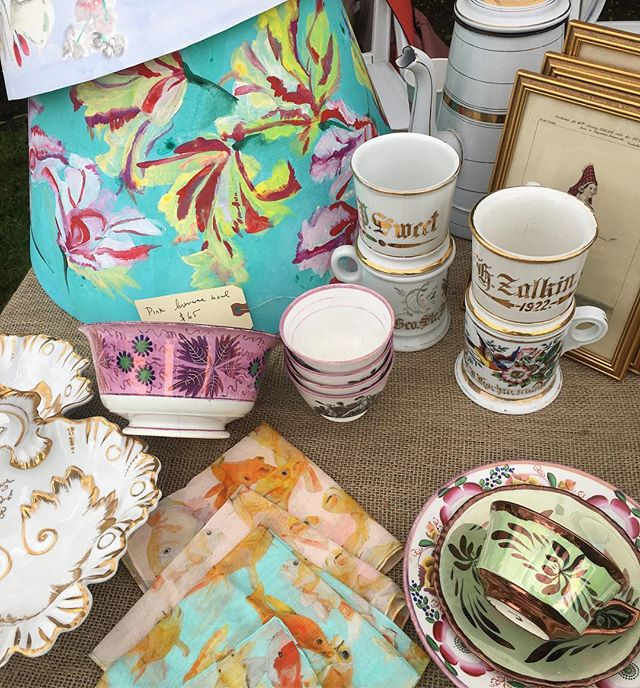Voutsa Voutsa! Get your @voutsa lampshades and beach apparel at #Madoo conservancy in Sagaponack today!