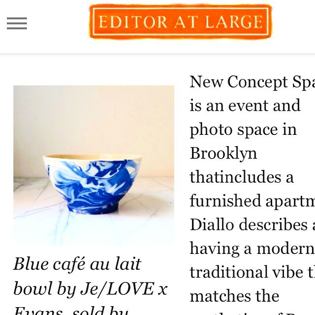 New pop up 💙 Thank you @editoratlarge for the shout out! Don't miss thisFriday 12pm-7pm and Saturday 11pm-6pm 199 North 8th street off Driggs avenue in Williamsburg Brooklyn. @panierhome pop up. Decorating consultations by @walishandstambaugh . Special guest curator for art and antiques @torimellott hosted by @newconceptspace and @erinswift