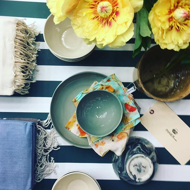 Summer Of Love. .. Still life from Panier Home shopping event this weekend.