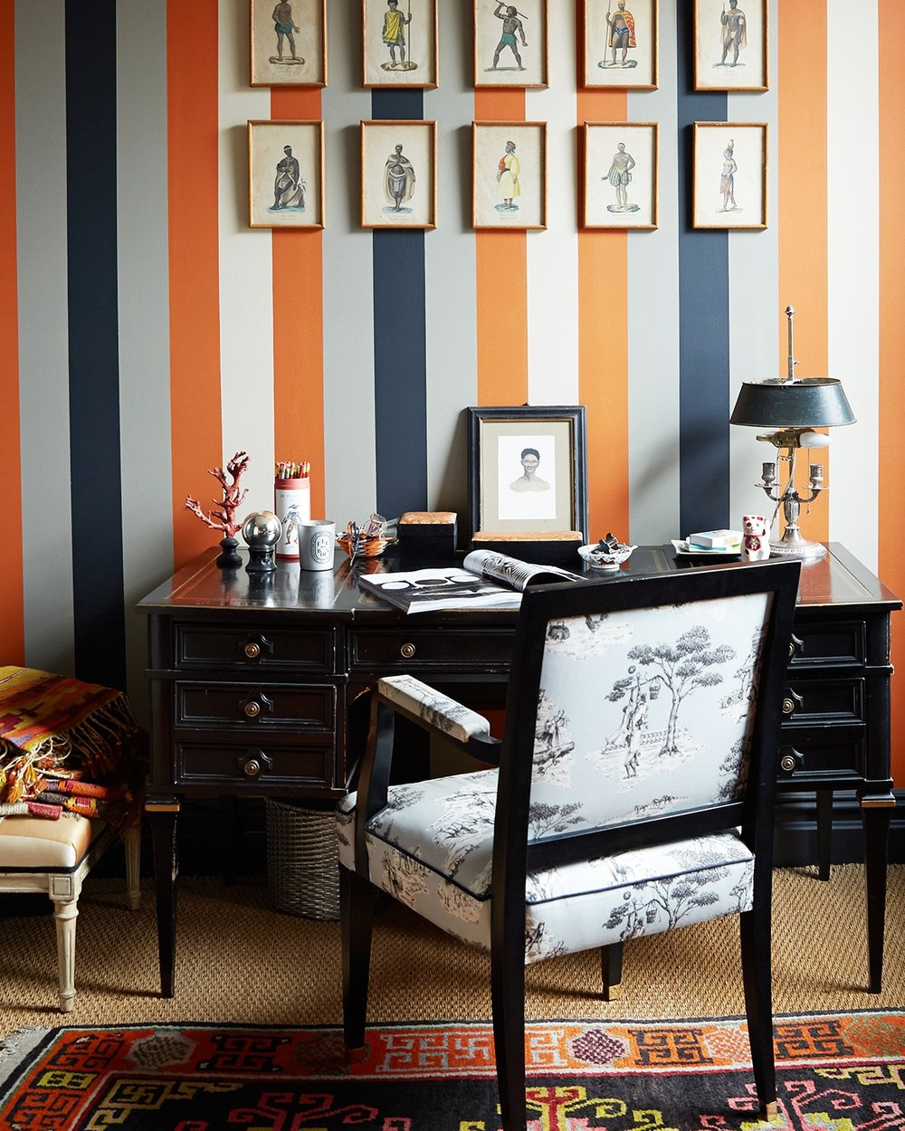 FANCY STRIPES OR CAJ LINES?WALLPAPER MIGHT BE YOUR BEST BET. - CHECK OUT OUR SELECTION