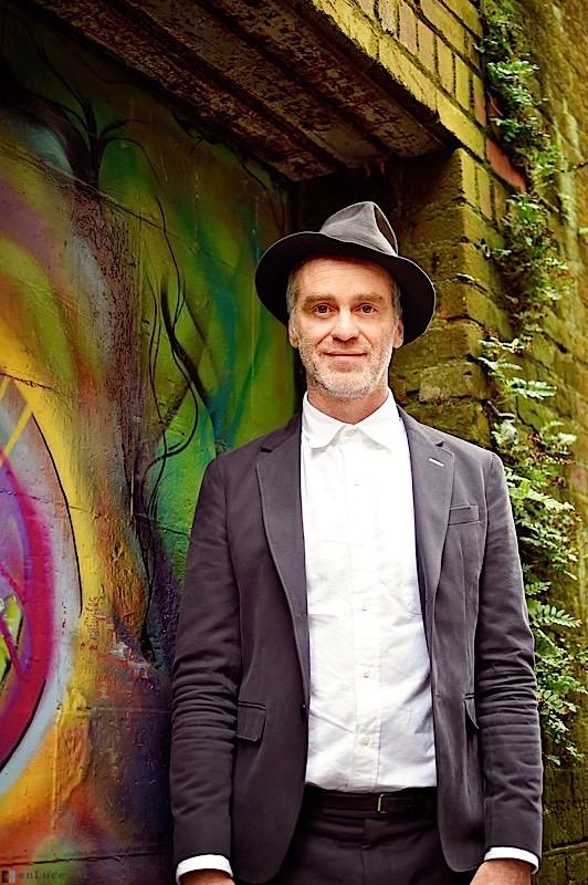Singer/Songwriter Sean Hayes in his hometown of Petaluma, CA