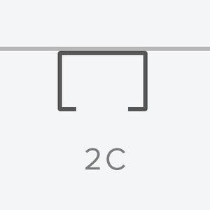2 Circuit Rail  120V or 277V  Spec  ►