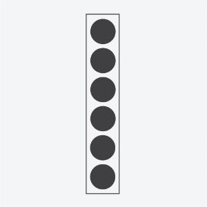 MULTIPLE SMALL  Six 6 x 14 W Jusqu'à1300 lm par lampe  Spec  ►  Ies/Cad ► Instructions ►