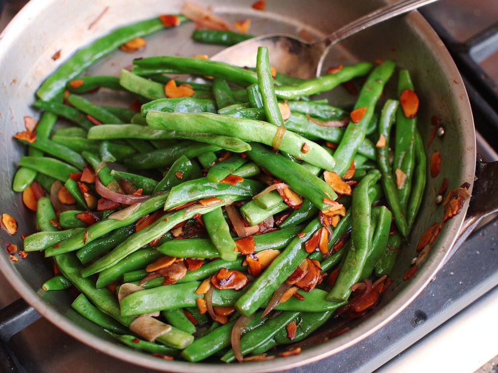 Green Bean Amandine