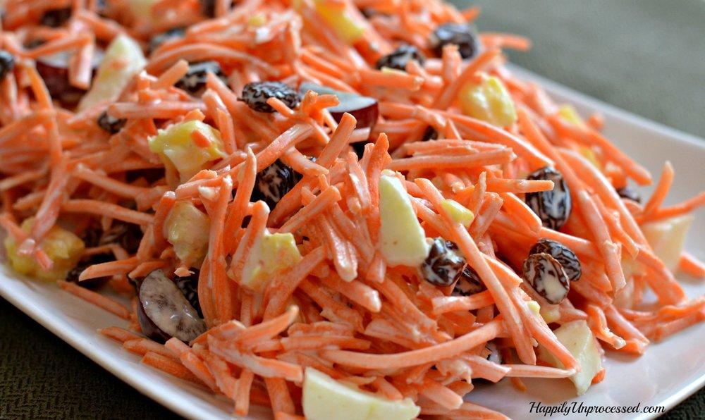 Carrot & Raisin Salad