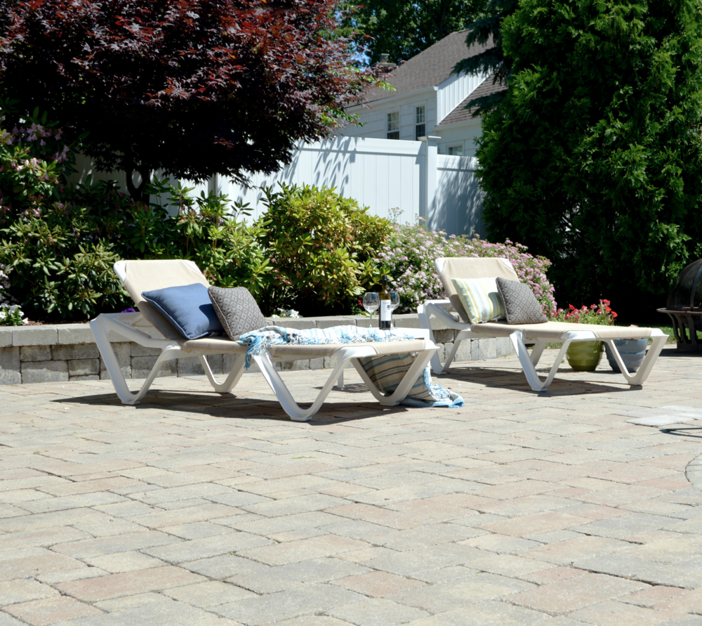 Copy of Westchester County, NY patio with Unilock pavers