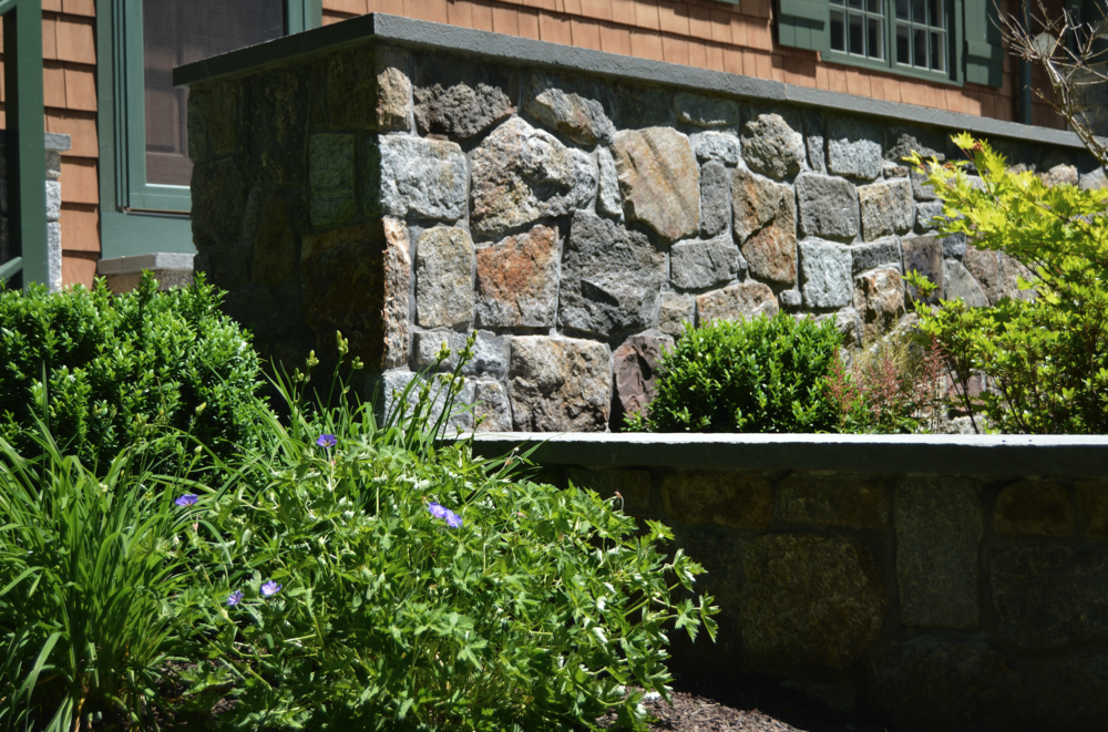 Copy of Westchester County, NY stone wall landscaping