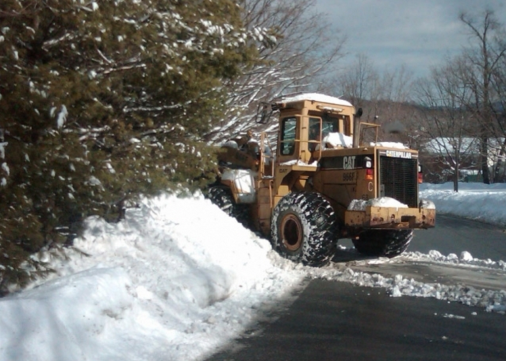 Snow plowing services in Westchester County, NY