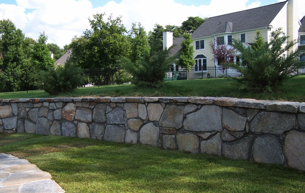 Copy of Westchester County, NY custom masonry retaining wall