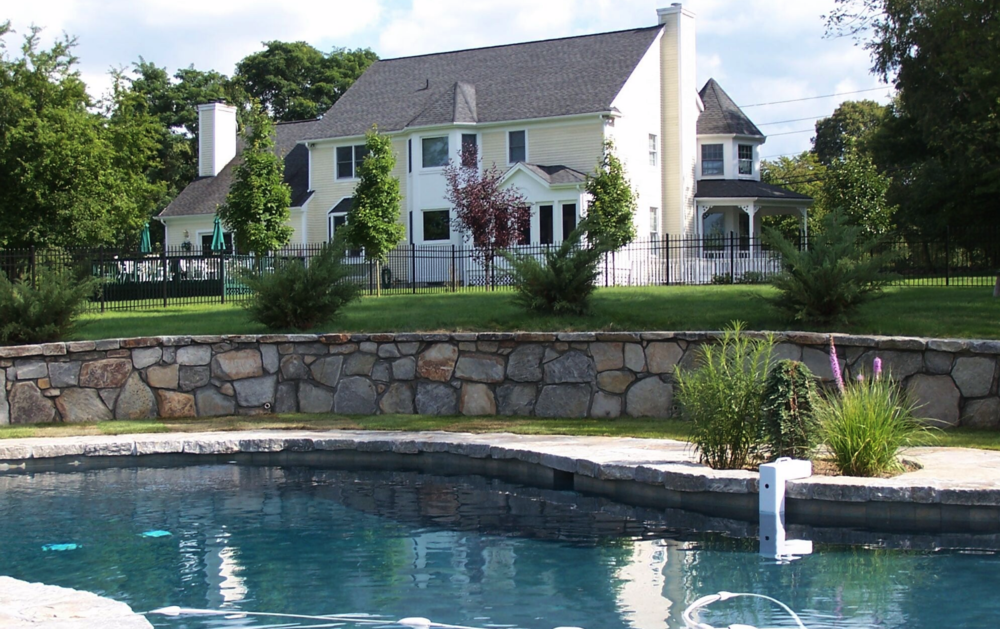Copy of Westchester County, NY custom masonry around swimming pool