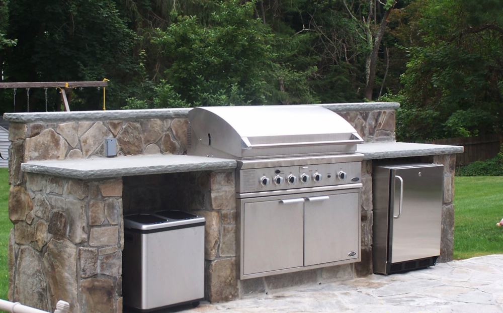 Copy of Westchester County, NY swimming pool patio and outdoor kitchen