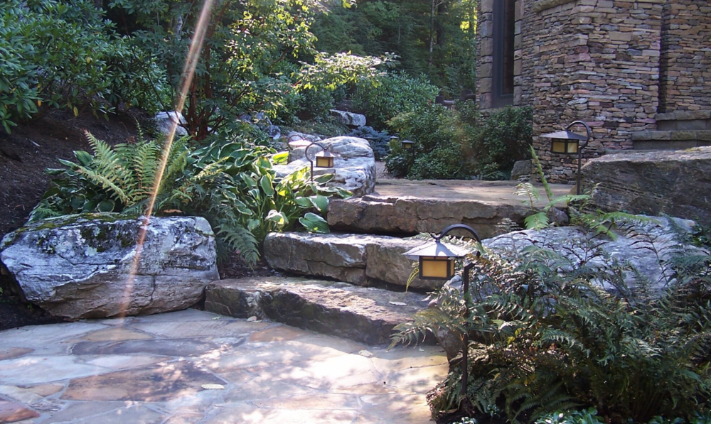 Copy of Westchester County, NY natural stone retaining wall