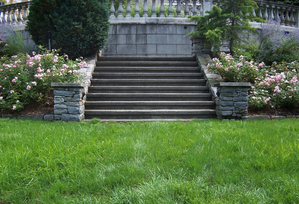 Copy of Westchester County, NY natural stone retaining wall and steps