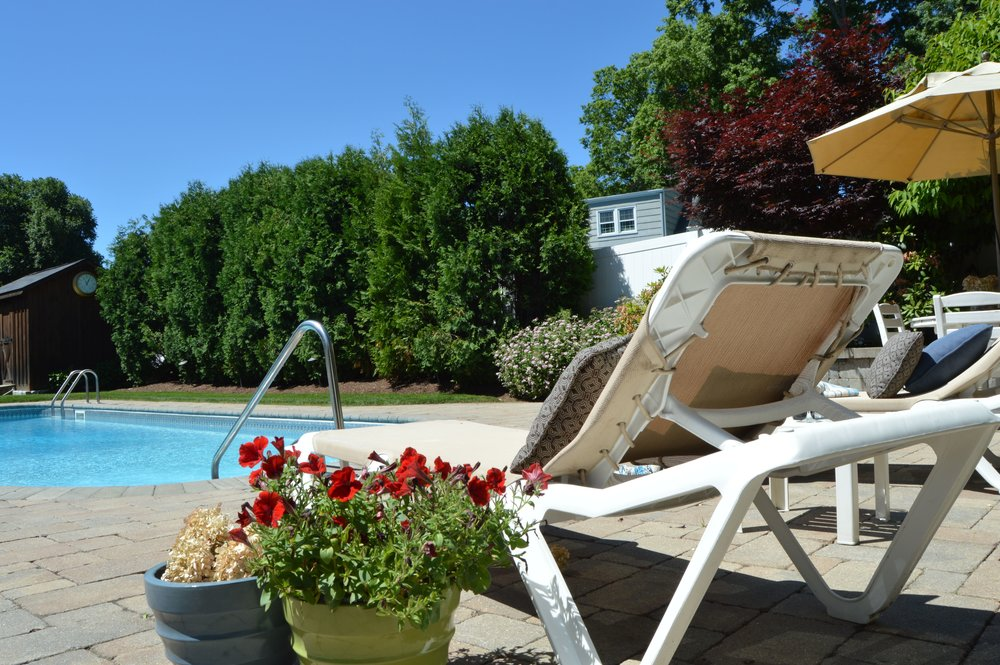 Experienced landscape design with pool deck in Tarrytown, NY