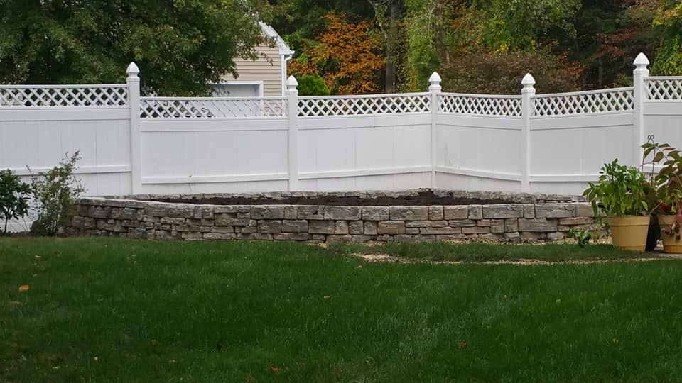 Copy of Rosetta stone steps and wall in Cortlandt Manor, NY