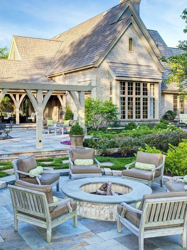 How to Match an Outdoor Fireplace or Fire Pit to Your Home's Exterior in Cortlandt Manor, NY