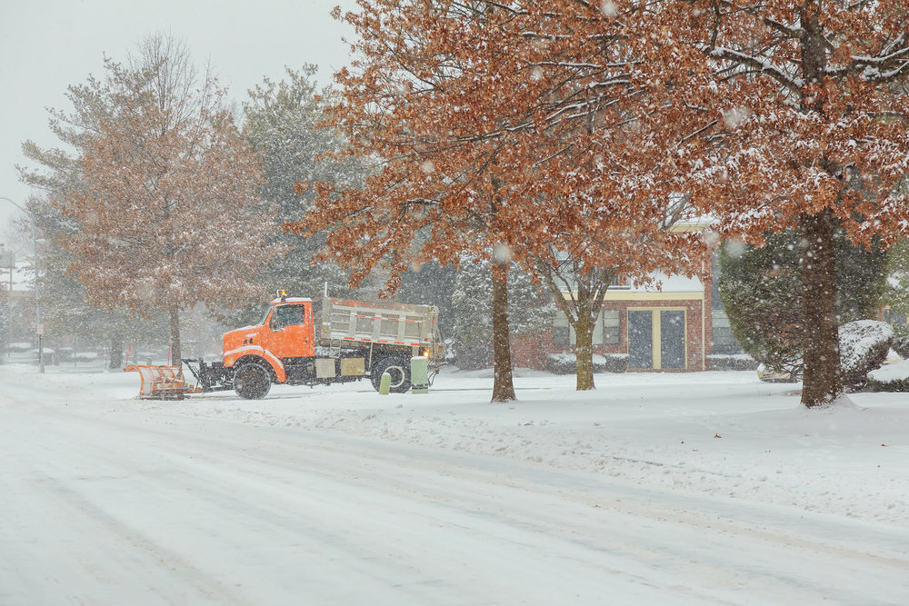 How Snow Plowing Improves the Safety of Your Briarcliff Manor, NY, Property