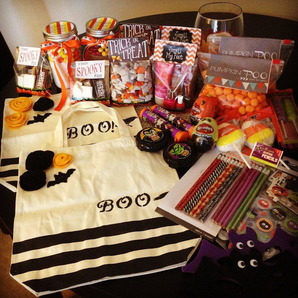 Halloween 2014 Bags and Treats