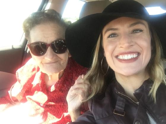 Mammaw and Rebecca