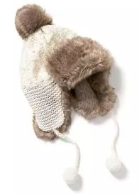 Old Navy Faux Fur Trapper Hat