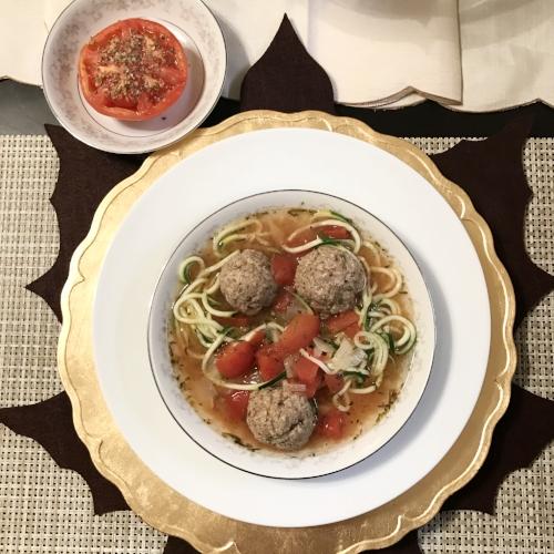 Turkey Meatball Soup - Paleo
