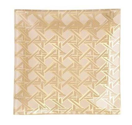 Kate Spade Gold Square Tray