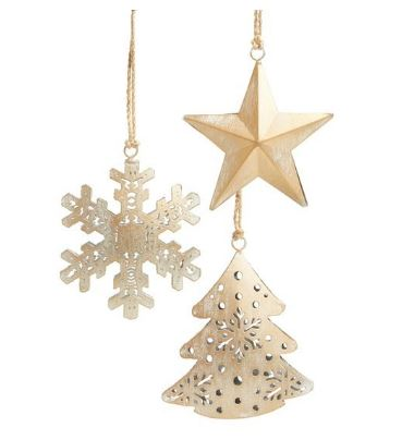 Set of 3 Nordstrom Ornaments