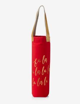 Fa-La-La Wine Bag