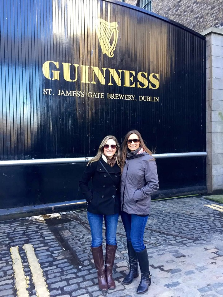 Guiness Brewery in Dublin, Ireland