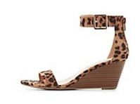 Sandal Charlotte Russe two piece leopard wedge.JPG