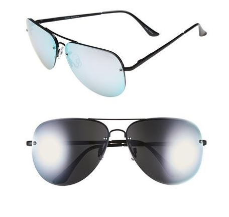 Quay Australia Muse 65mm Mirrored Aviator black, purple.JPG